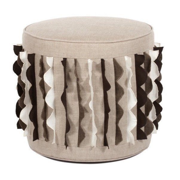 Carmen Swivel Pouf