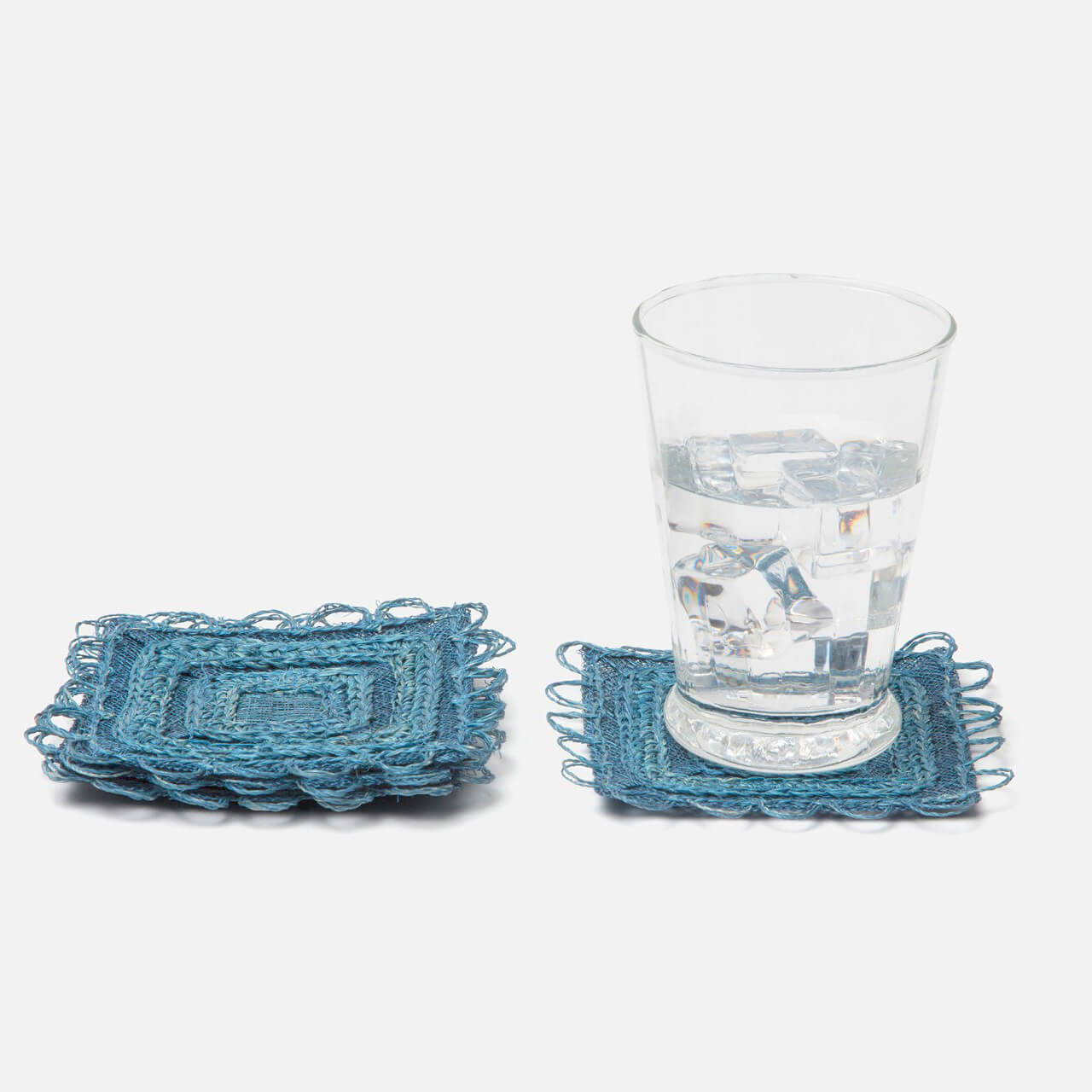 Carmine Square Coasters, Set/4