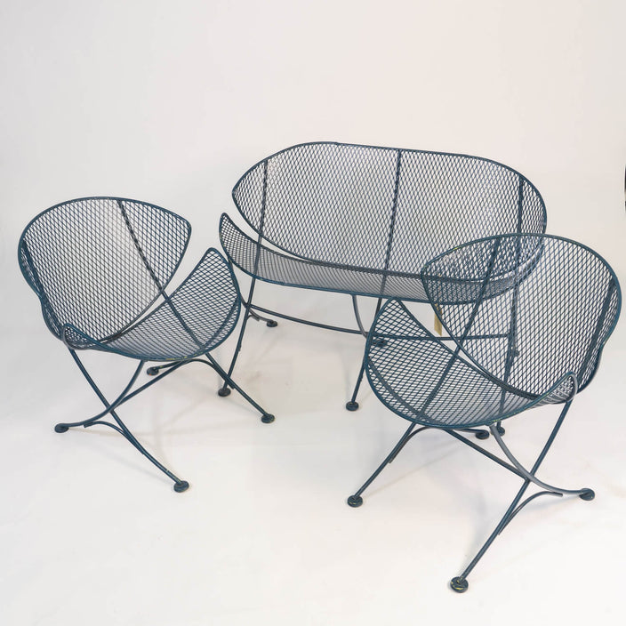 "Maurizio Tempestini For Salterini ""Clamshell"" Chairs & Settee"