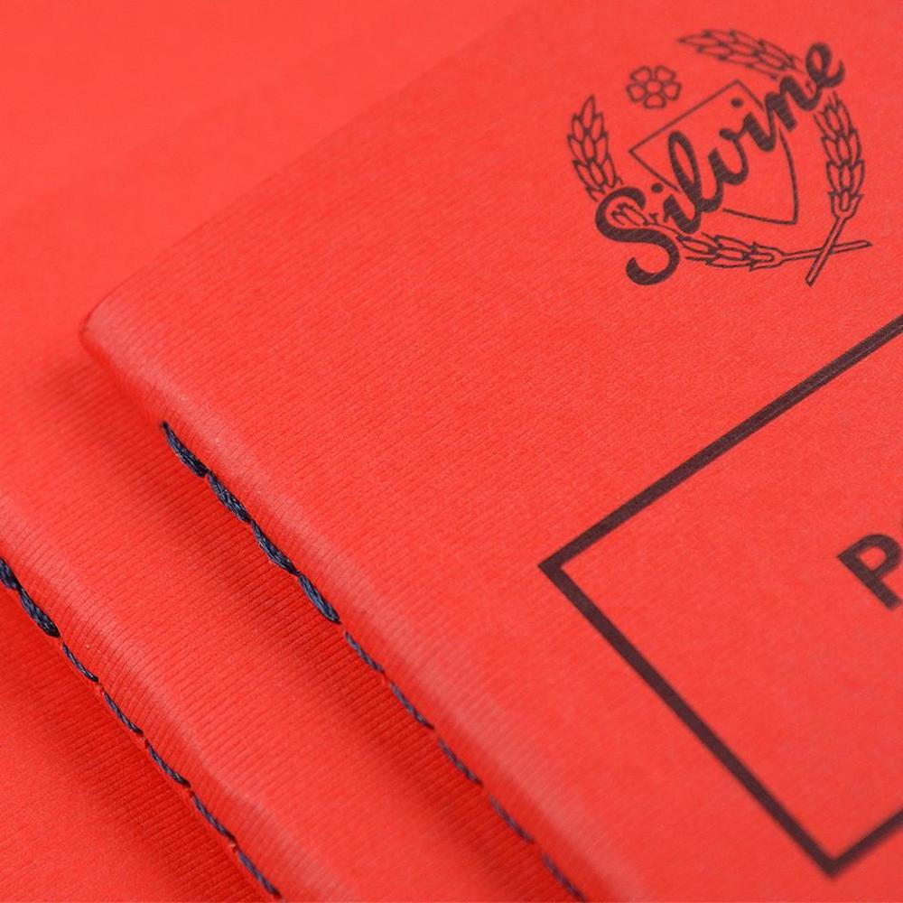 """English Red """"Memo"""" Notebook"""