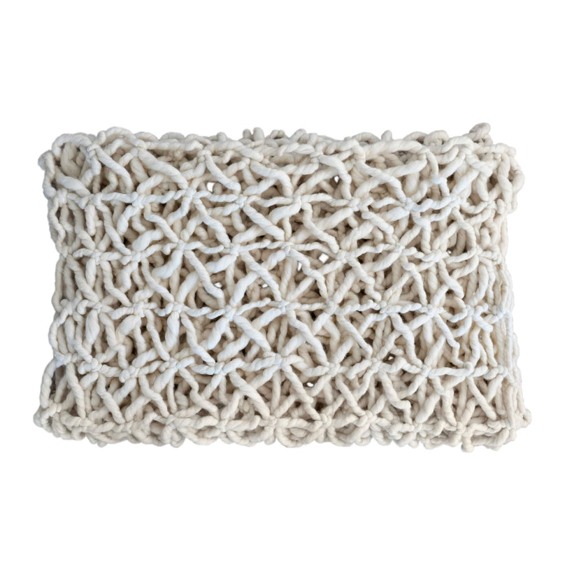 Espalier Throw, Ivory