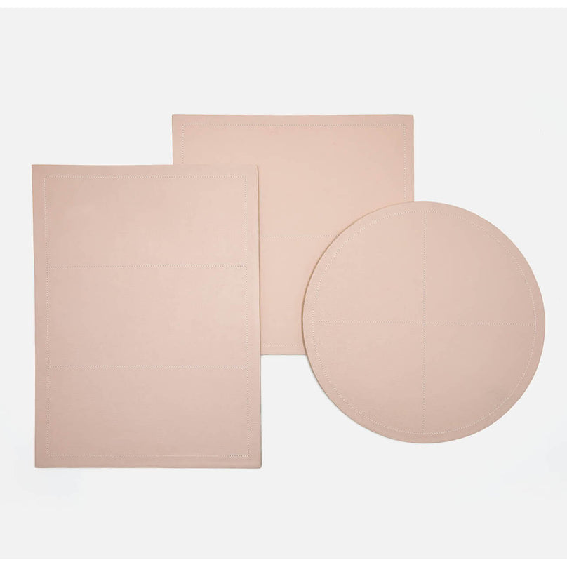 Evan Dusty Rose Placemat, Set/2