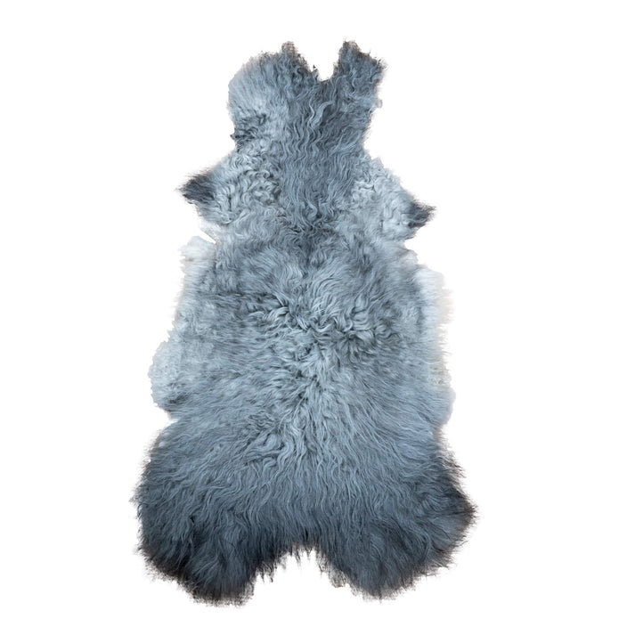 Icelandic Short Hair Sheepskin, Dark Grey