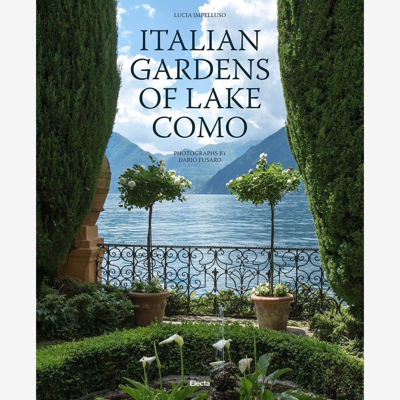 Italian Gardens of Lake Como - Hardcover