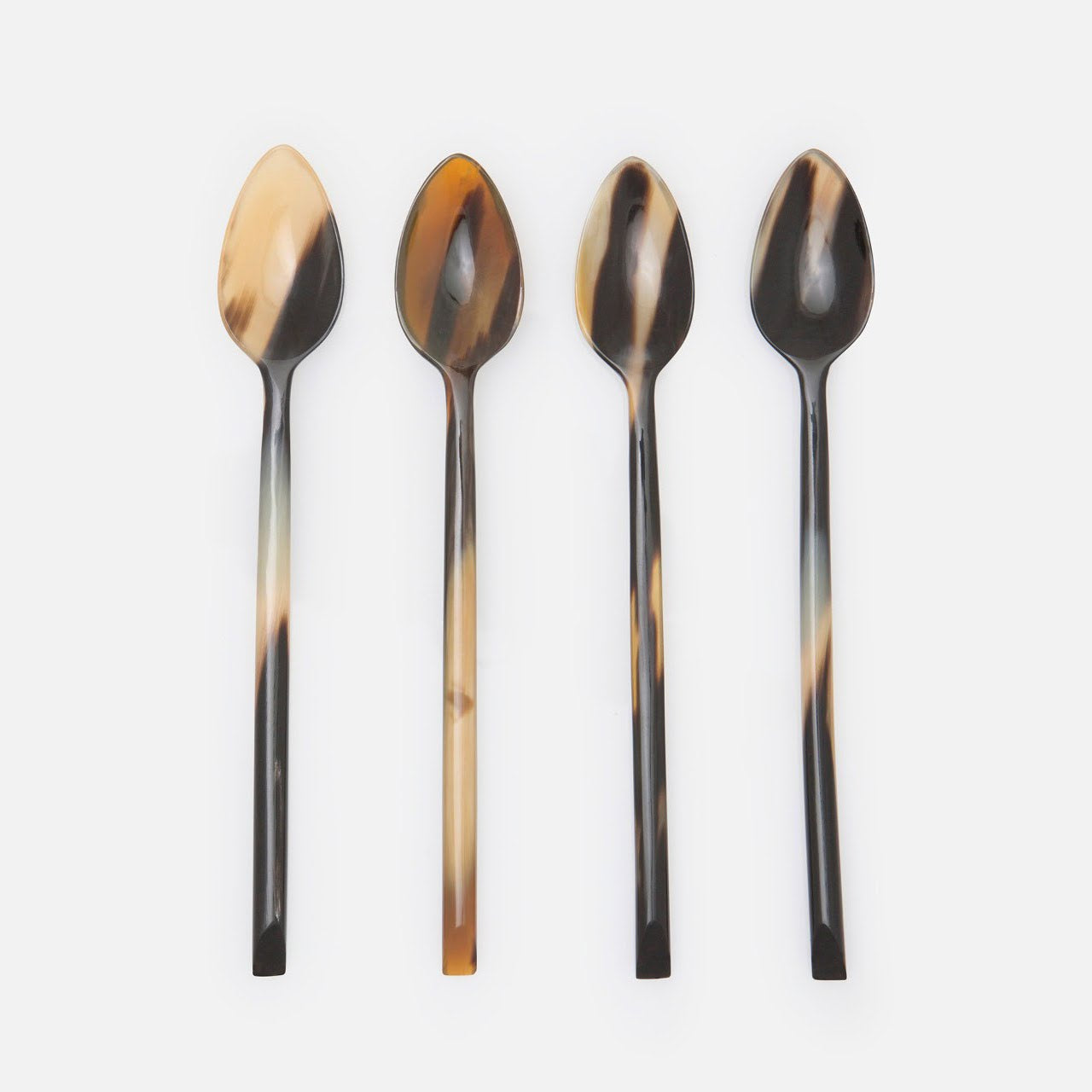 Kaarl Mixed Black Cocktail Spoon Set/12