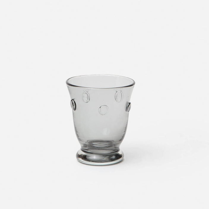 Lucia Pale Grey Tumbler Glass, Set/6