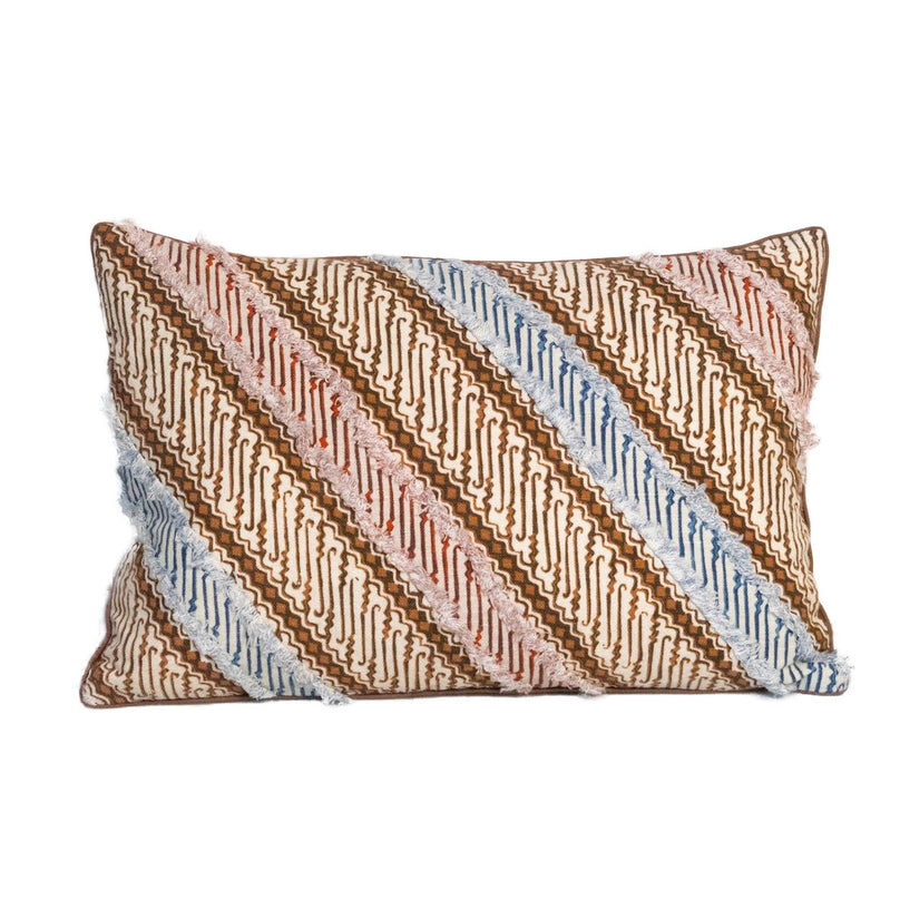 "14"" x 20"" Mingo Batik Pillow - Multi"