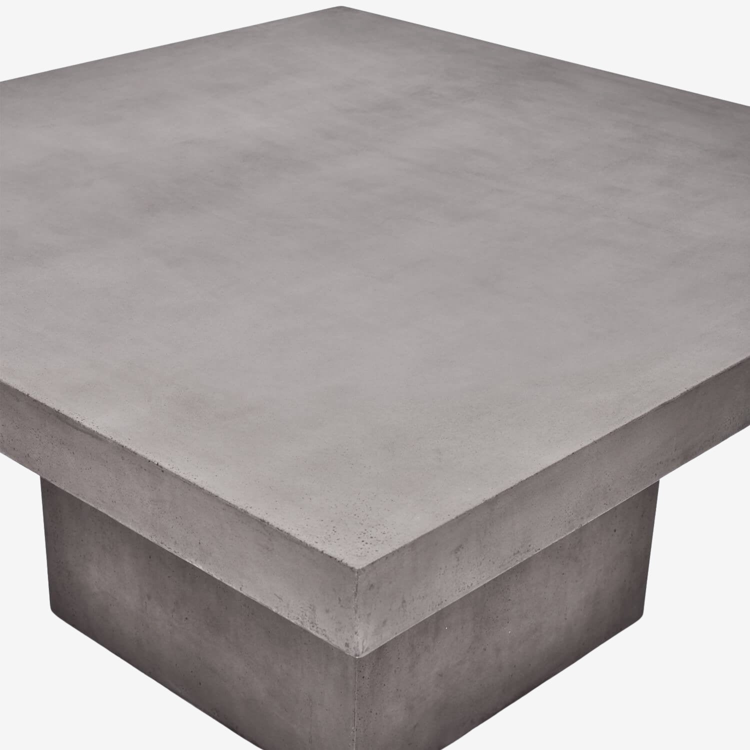 Monolithic Square Cement Table 5'