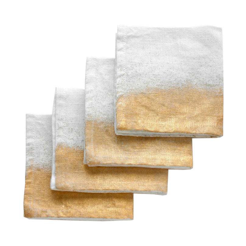 moondust cocktail napkin set of 4