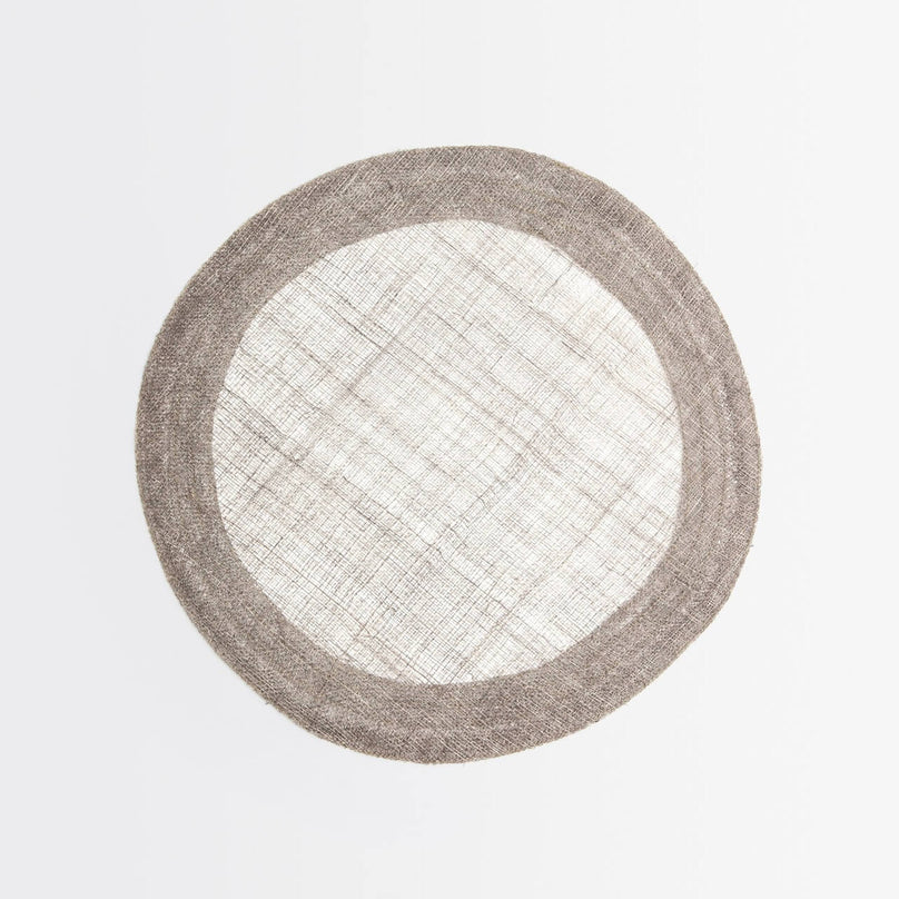 Naiya Gray Placemat, Pack/4