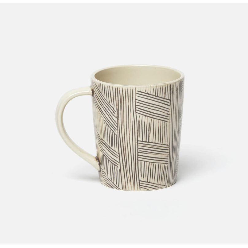Nolan Black/Cream Mug