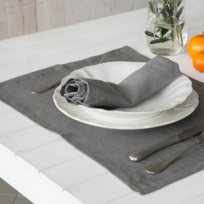 Porto Grey Placemat