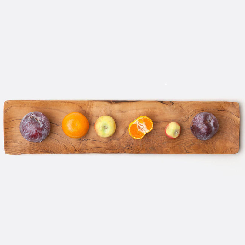 Rowan Teak Long Serving Tray, Pack/2