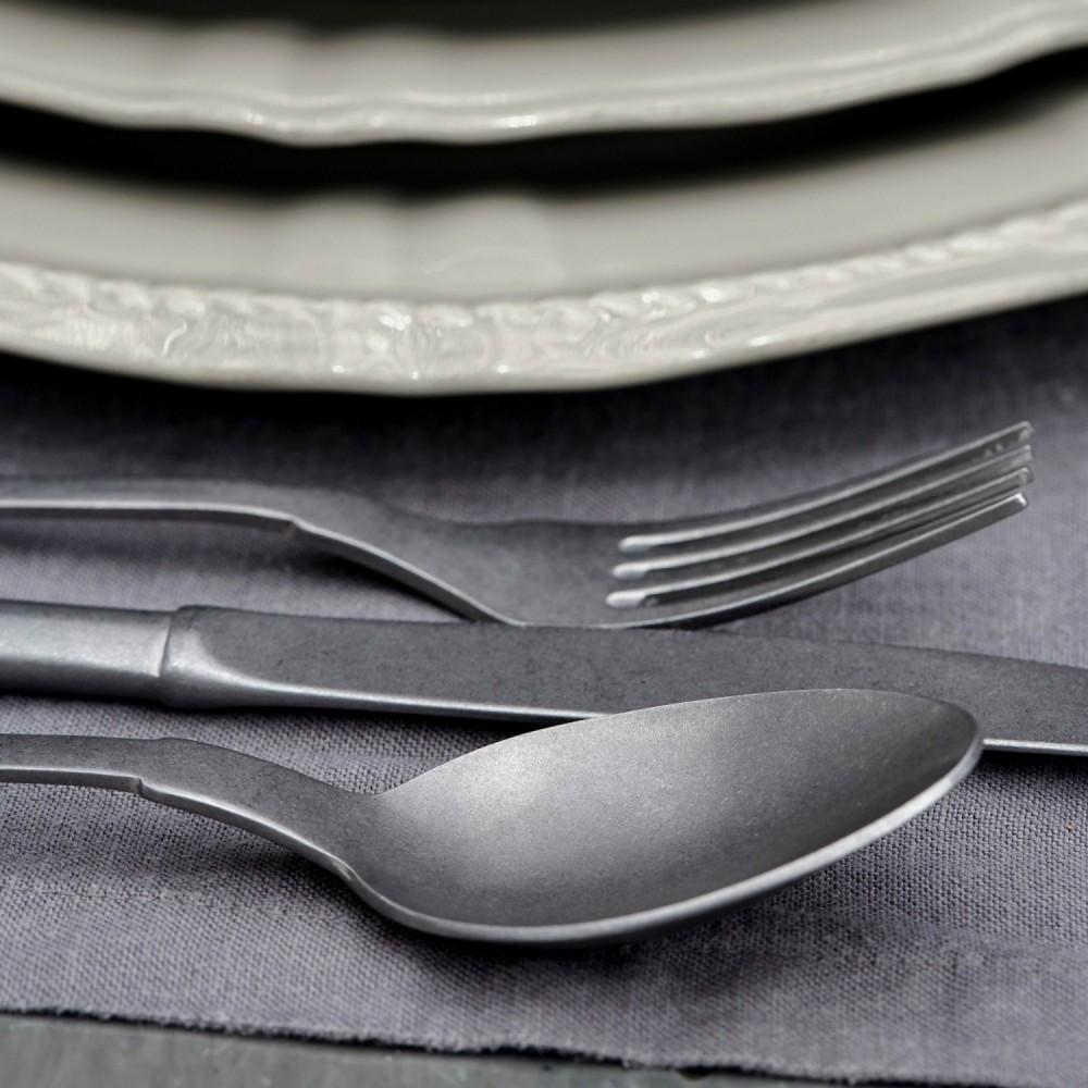 Saga Matte Flatware 5 Piece Set