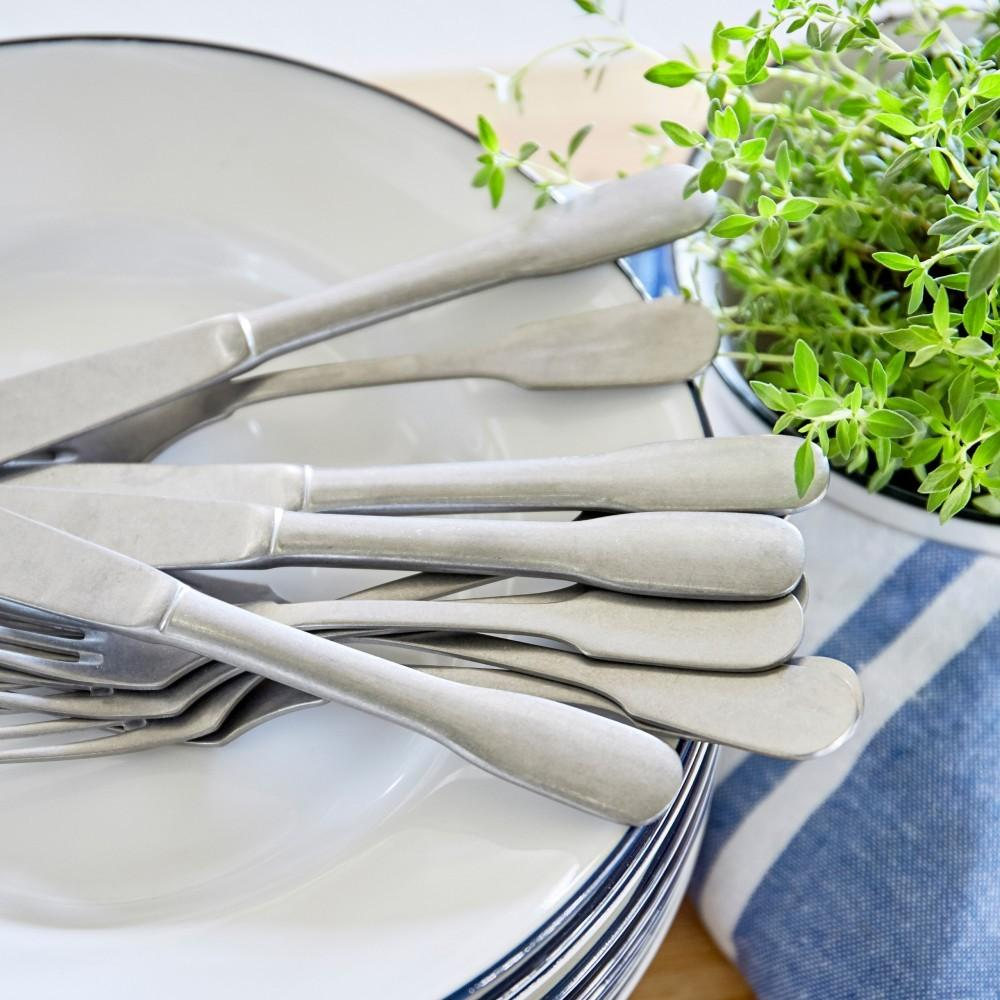 Saga Matte Flatware 20 Piece Set