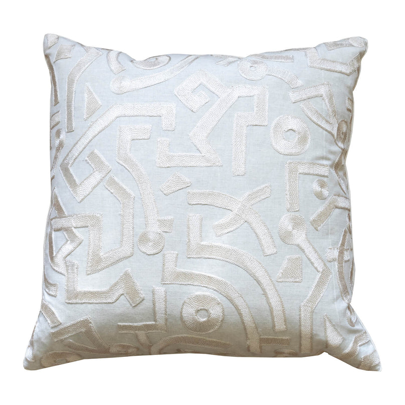 Samba Step Pillow - Linen