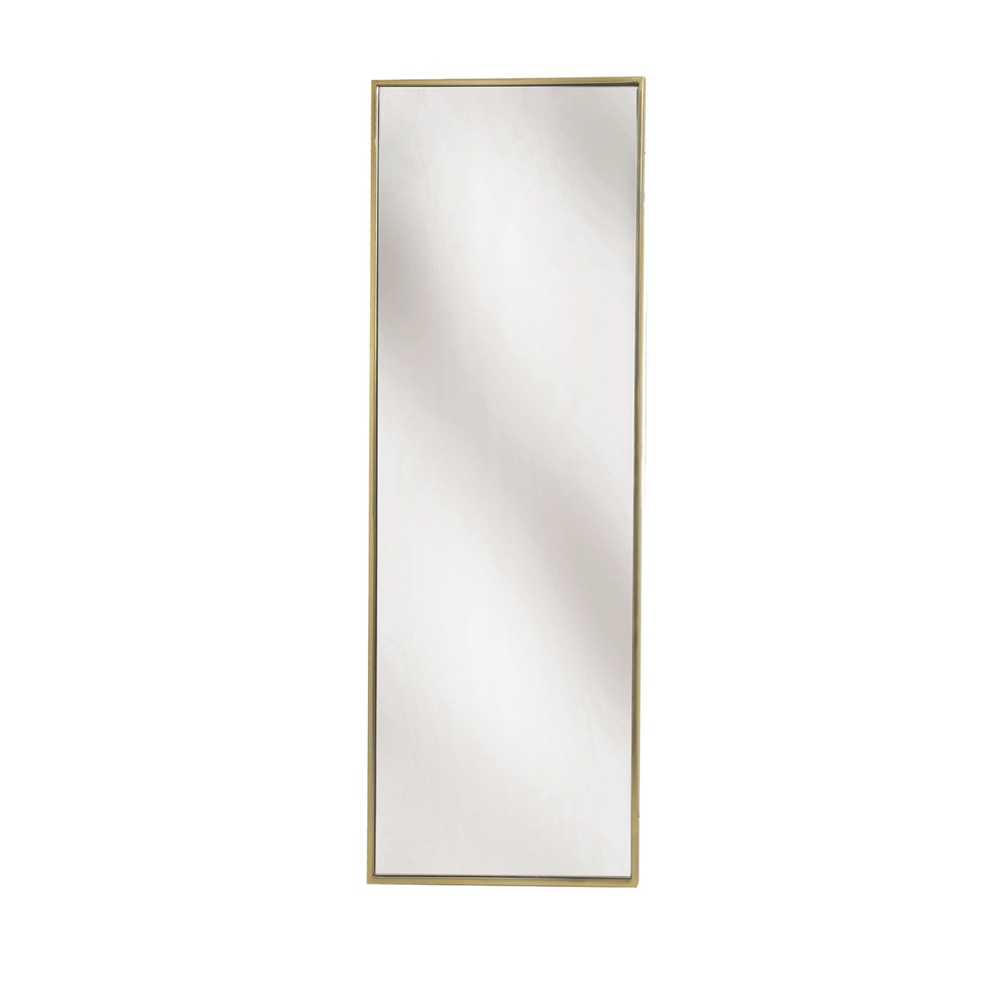 Simple Wall Mirror - Brass