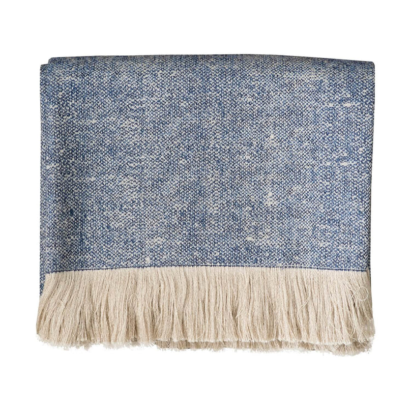 Art Blue Throw