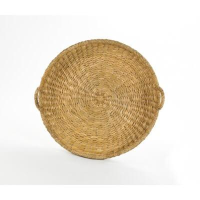 Sweater Weave Lg. Round Tray