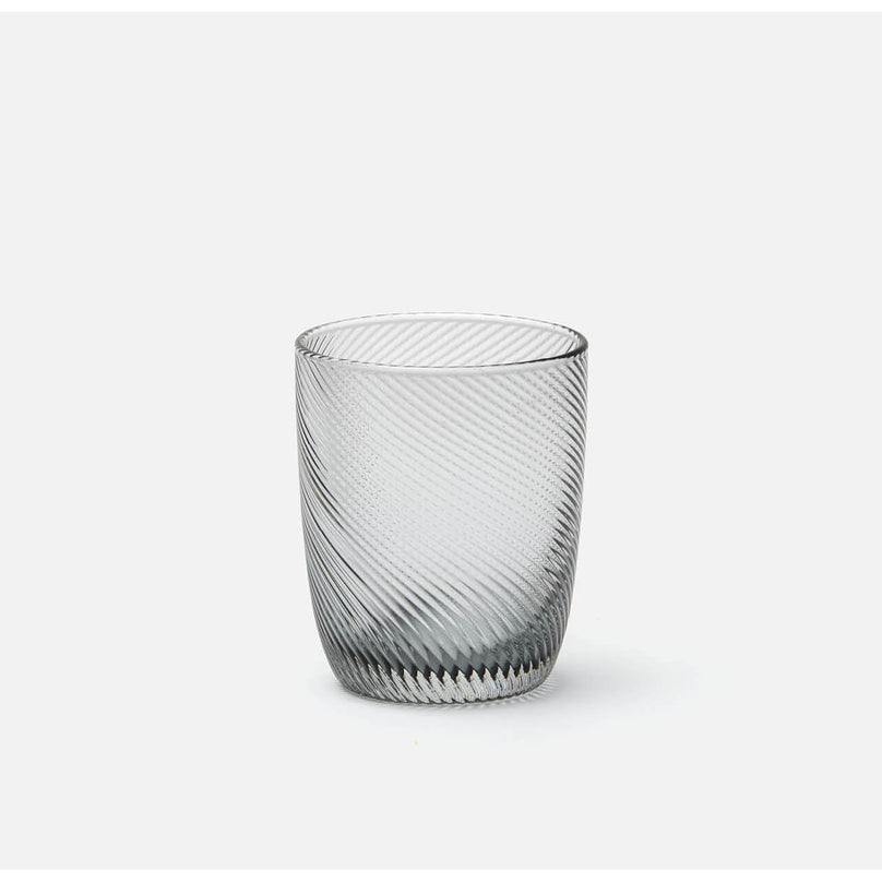 Terris Pale Grey Twist Tumbler, Pack/6