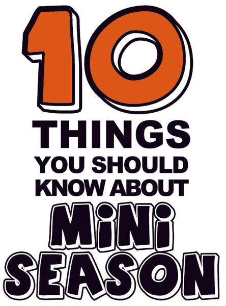 10 THINGS YOU SHOULD KNOW ABOUT MINI SEASON