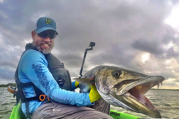 Kayak Sight-Fishing for Barracuda