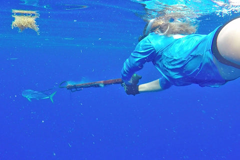 Spearfishing Dolphin Women- FishMonster Magazine