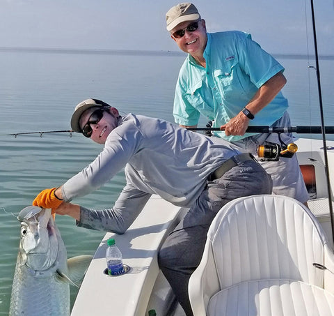 Summer in the Florida Keys, Tarpon boat side - FishMonster Magazine