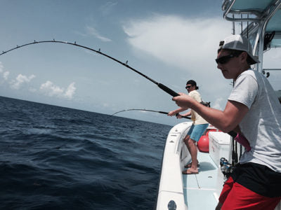 Capt. Beau Woods Going Vertical Fishing Article Fishmonster Magazine F big