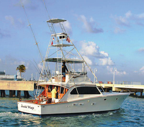 Double Wrap - 1978 Post Sportfish 42' is for sale for $99,000 Contact Patti DeSantis at (727) 858-8525 or SouthernmostSportfishing@gmail.com