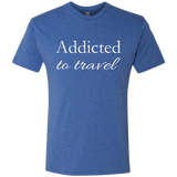 Addicted to Travel Men's T-Shirt
