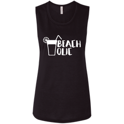 Beacholic Women Flowy Beach Muscle Tank - The Art Of Travel Store: Travel Accessories and Travel T-Shirts