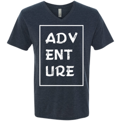 Adventure Men's Wanderlust V-Neck Tee - The Art Of Travel Store: Travel Accessories and Travel T-Shirts