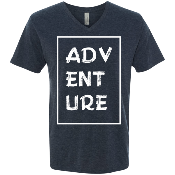 Adventure Men's Wanderlust V-Neck Tee - The Art Of Travel