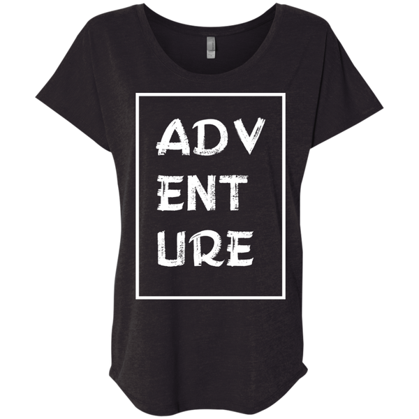 Adventure Now Women's Travel T-Shirt - The Art Of Travel
