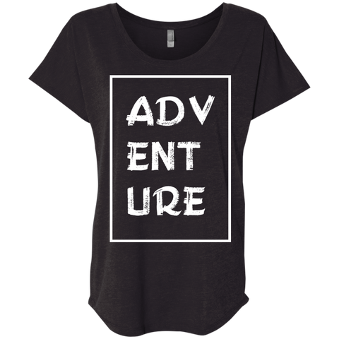 Adventure Now Women's Travel T-Shirt - The Art Of Travel Store: Travel Accessories, Travel Clothes, Travel Gear