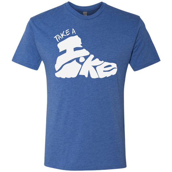 Take A Hike Men's Travel Hiking T-Shirt - The Art Of Travel Store: Travel Accessories and Travel T-Shirts