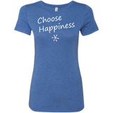 Choose Happiness Women's Travel T-Shirt - The Art Of Travel Store: Travel Accessories, Travel Clothes, Travel Gear