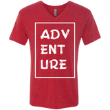 Adventure Men's Wanderlust V-Neck Tee - The Art Of Travel Store: Travel Accessories, Travel Clothes, Travel Gear