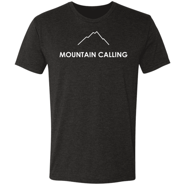 Mountain Calling Men's Triblend T-Shirt