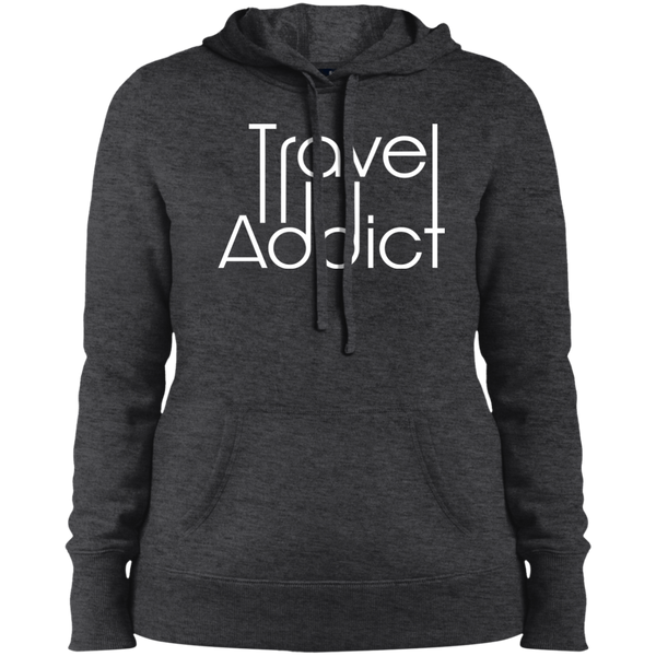 Travel Addict Pullover Hooded Sweatshirt - The Art Of Travel Store: Travel Accessories, Travel Clothes, Travel Gear