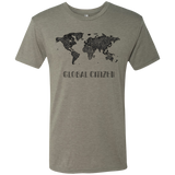 I Am A Global Citizen Men's Travel T-Shirt - The Art Of Travel Store: Travel Accessories, Travel Clothes, Travel Gear