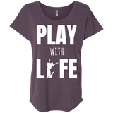 Play With Life Women's Travel T-Shirt - The Art Of Travel Store: Travel Accessories, Travel Clothes, Travel Gear