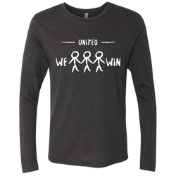 United We Win Global Men's Long Sleeve T-Shirt - The Art Of Travel Store: Travel Accessories and Travel T-Shirts