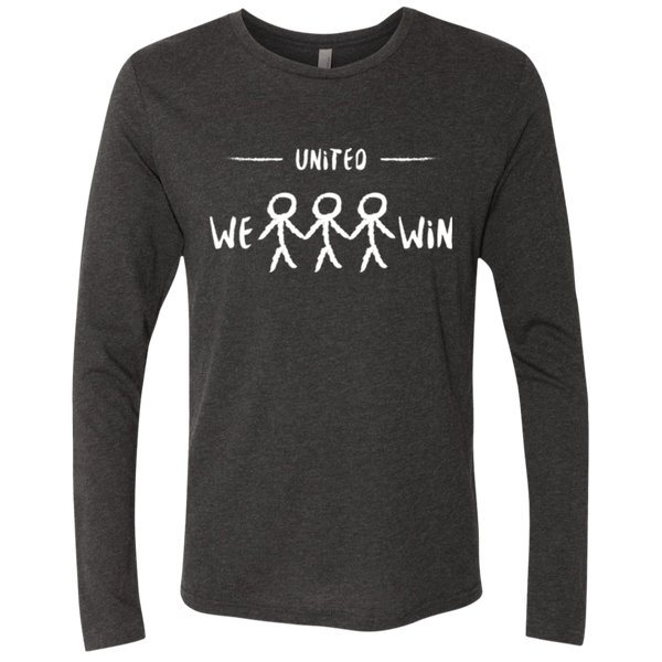 United We Win Global Men's Long Sleeve T-Shirt - The Art Of Travel Store: Travel Accessories, Travel Clothes, Travel Gear