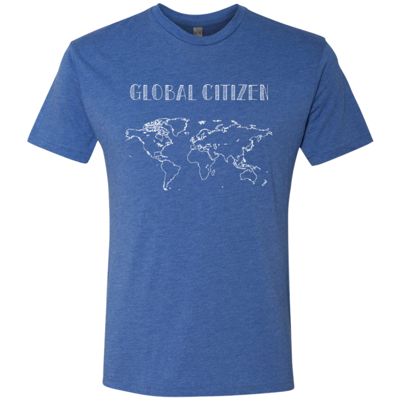 Global Citizen Men's Travel T-Shirt - The Art Of Travel Store: Travel Accessories and Travel T-Shirts