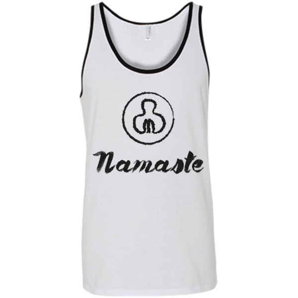 Namaste World Men's Cotton Summer Travel Tank - The Art Of Travel Store: Travel Accessories and Travel T-Shirts