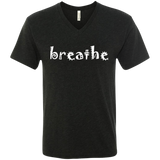Breathe Relax Wander Men's Travel V-Neck Tee - The Art Of Travel Store: Travel Accessories, Travel Clothes, Travel Gear