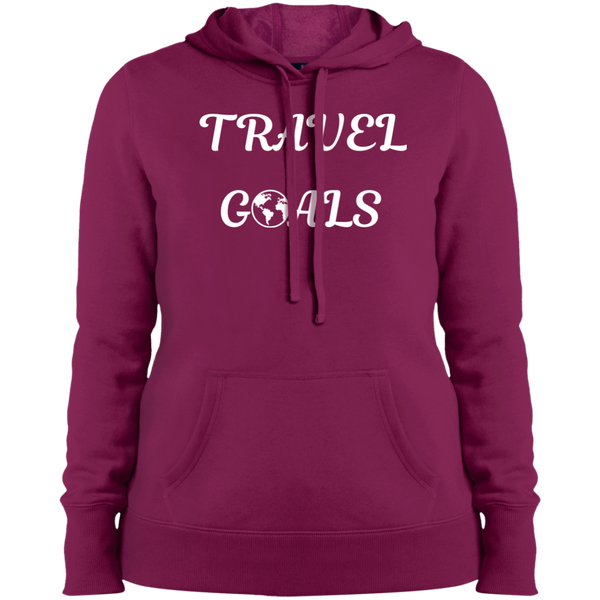 Travel Goals Women's Pullover Hooded Sweatshirt - The Art Of Travel Store: Travel Accessories, Travel Clothes, Travel Gear