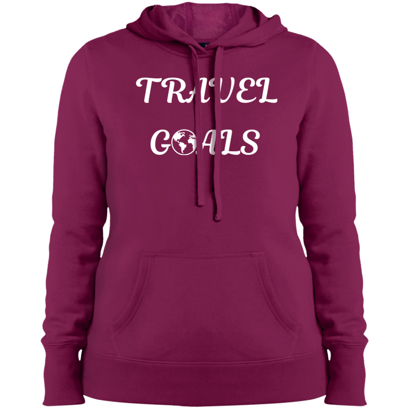 Travel Goals Women's Pullover Hooded Sweatshirt - The Art Of Travel Store: Travel Accessories and Travel T-Shirts